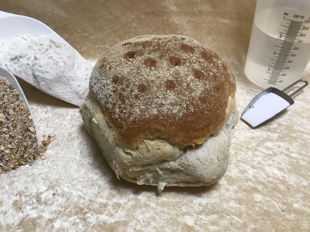 Rond vloer wit brood - Bakeronline