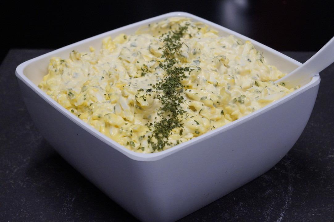 Huisgemaakte eiersla - Bakeronline