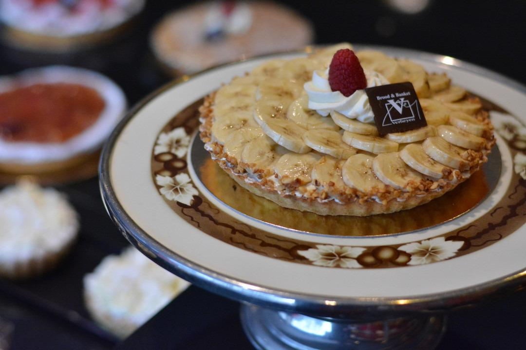 Bananentaart (6 pers.) - Bakeronline