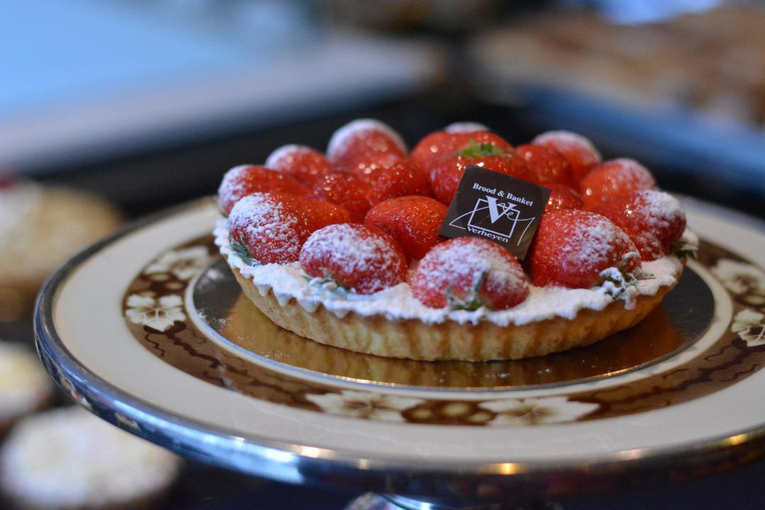 Aardbeientaart (8 pers.) - Bakeronline