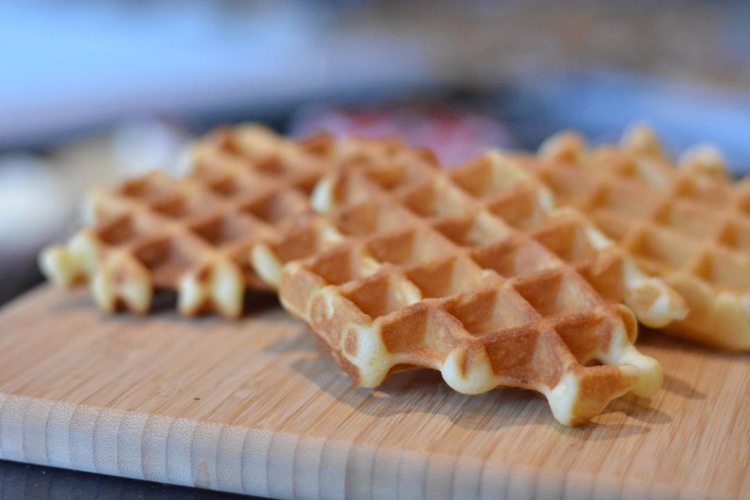 Vanillewafels met echte boter - Bakeronline