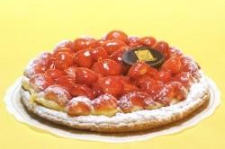Aardbeientaart 12p - Bakeronline