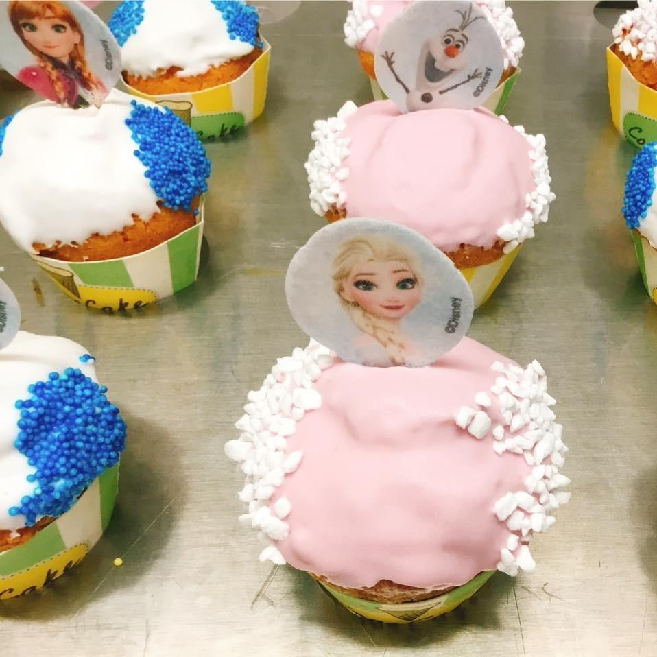 Cone cakes assortiment Frozen - Bakeronline