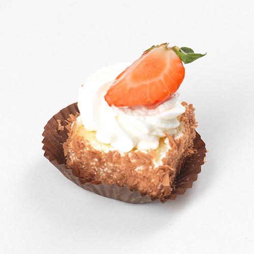 Mini biscuit met slagroom - Bakeronline