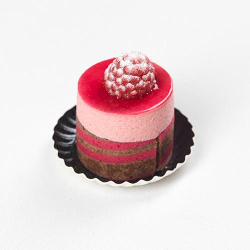 Mini frambozenbavarois - Bakeronline
