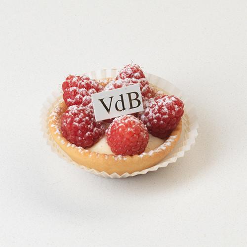 Mini frambozentaartje - Bakeronline