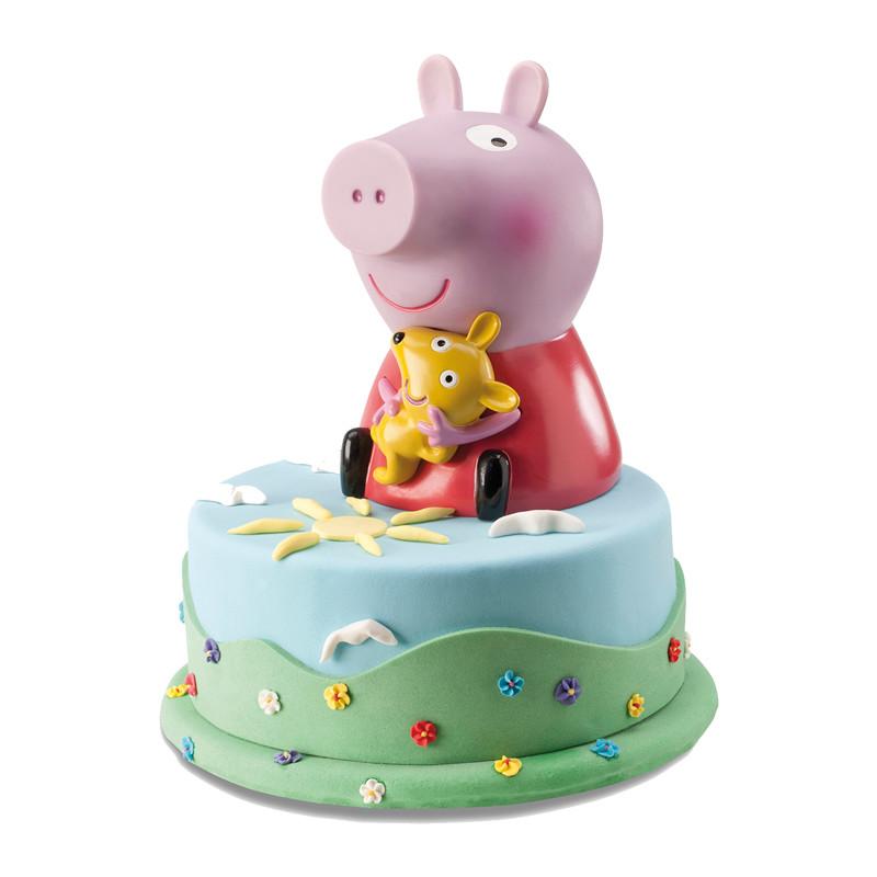 Peppa Pig taart - Bakeronline
