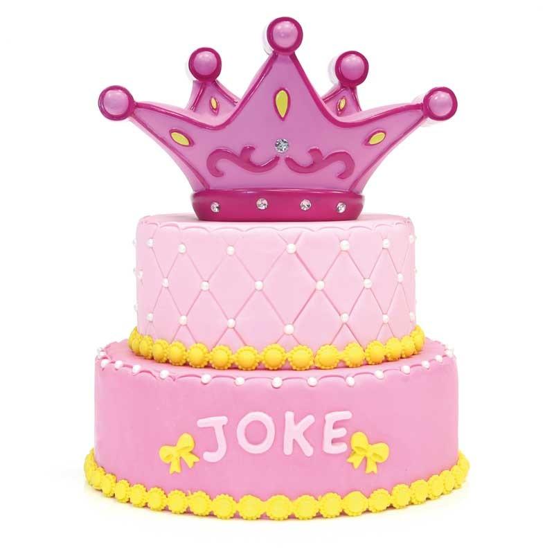 Prinsessentaart met ROZE kroon - Bakeronline