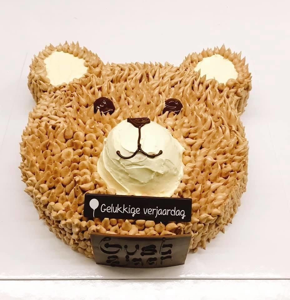 Knuffelbeer taart - Bakeronline