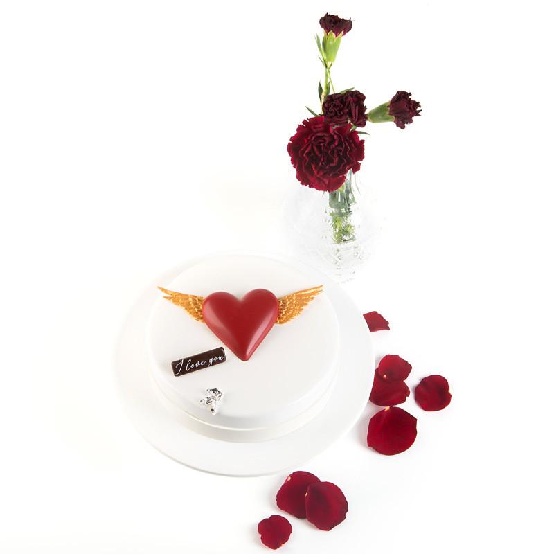 Valentijntaart 6 personen - Bakeronline