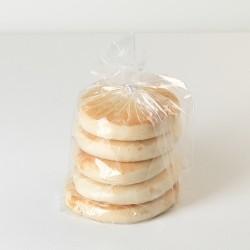 Zak witte eierkoeken 5 stuks - Bakeronline