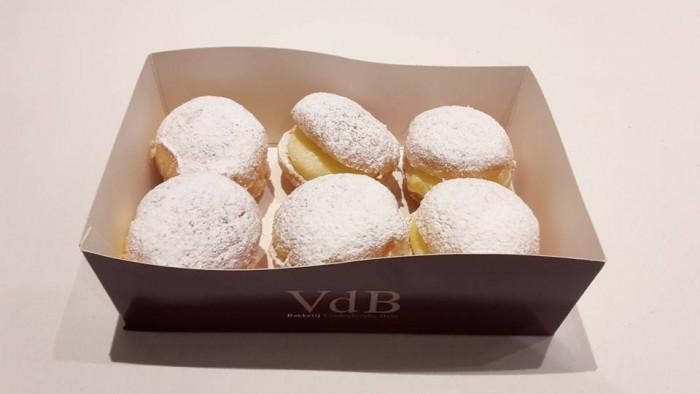 Bakje 6 mini bouls  bloemsuiker - Bakeronline