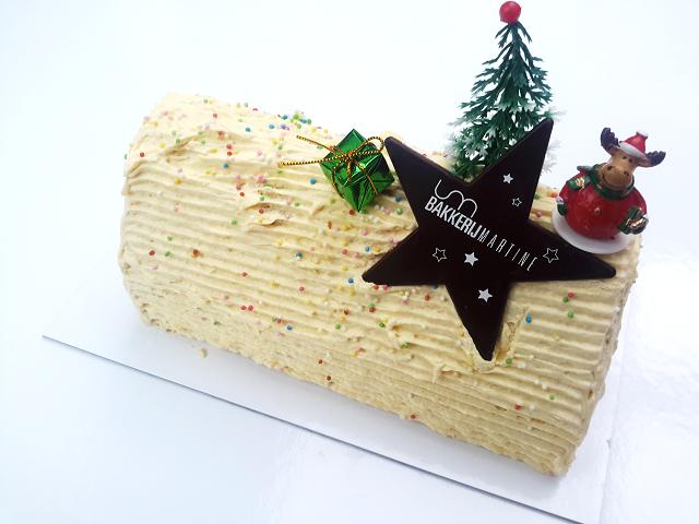 KERSTbûche crème au beurre / vanille - Bakeronline