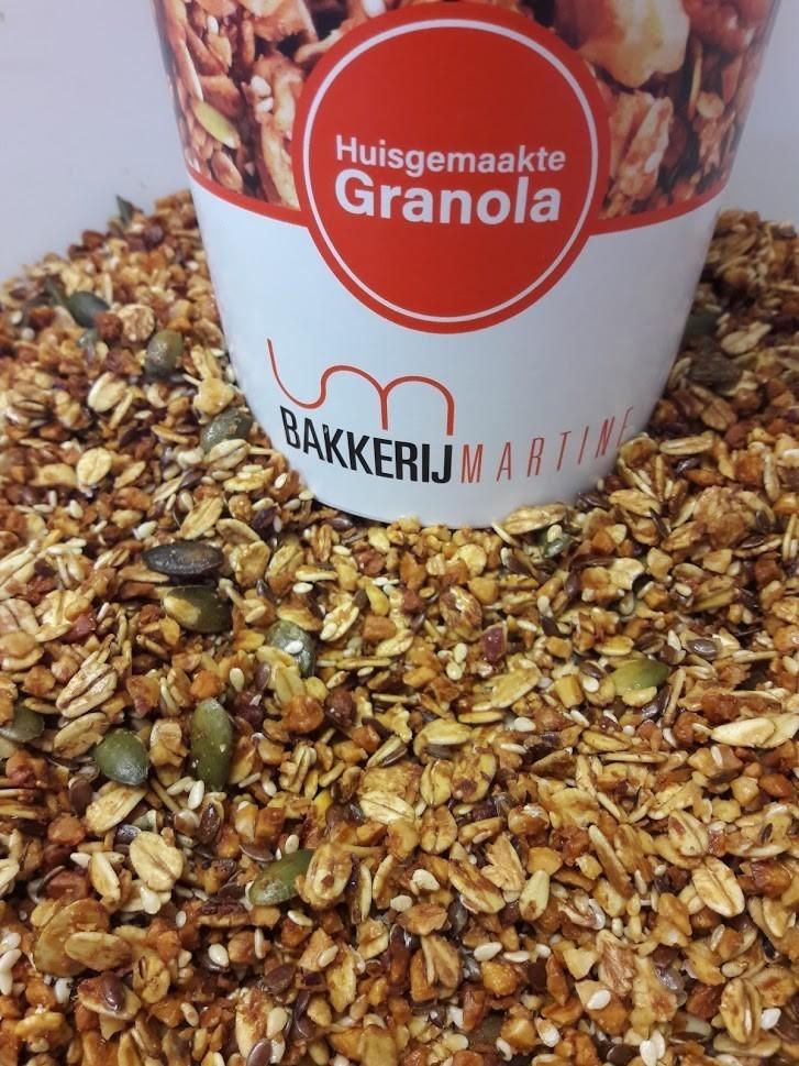 Granola Natuur / 400 gr - Bakeronline