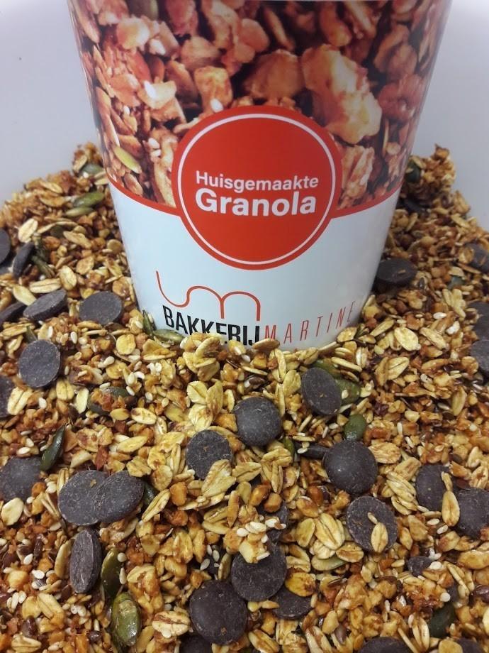 Granola  Chocolade 400 gr - Bakeronline