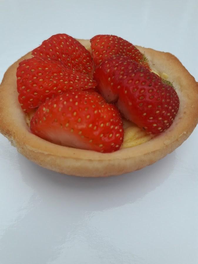 Suikervrij aardbeientaartje - Bakeronline
