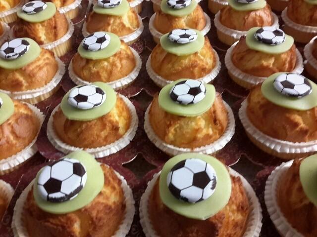 "Muffin "" voetbal "" - Bakeronline"