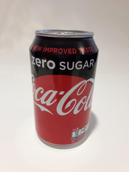 Cola zero sugar blik 33cl - Bakeronline