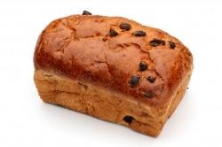 Rozijnenbrood rond - Bakeronline
