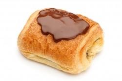 Klein Chocoladekoekje met choco op - Bakeronline