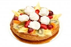 Fruittaart met slagroom - Bakeronline