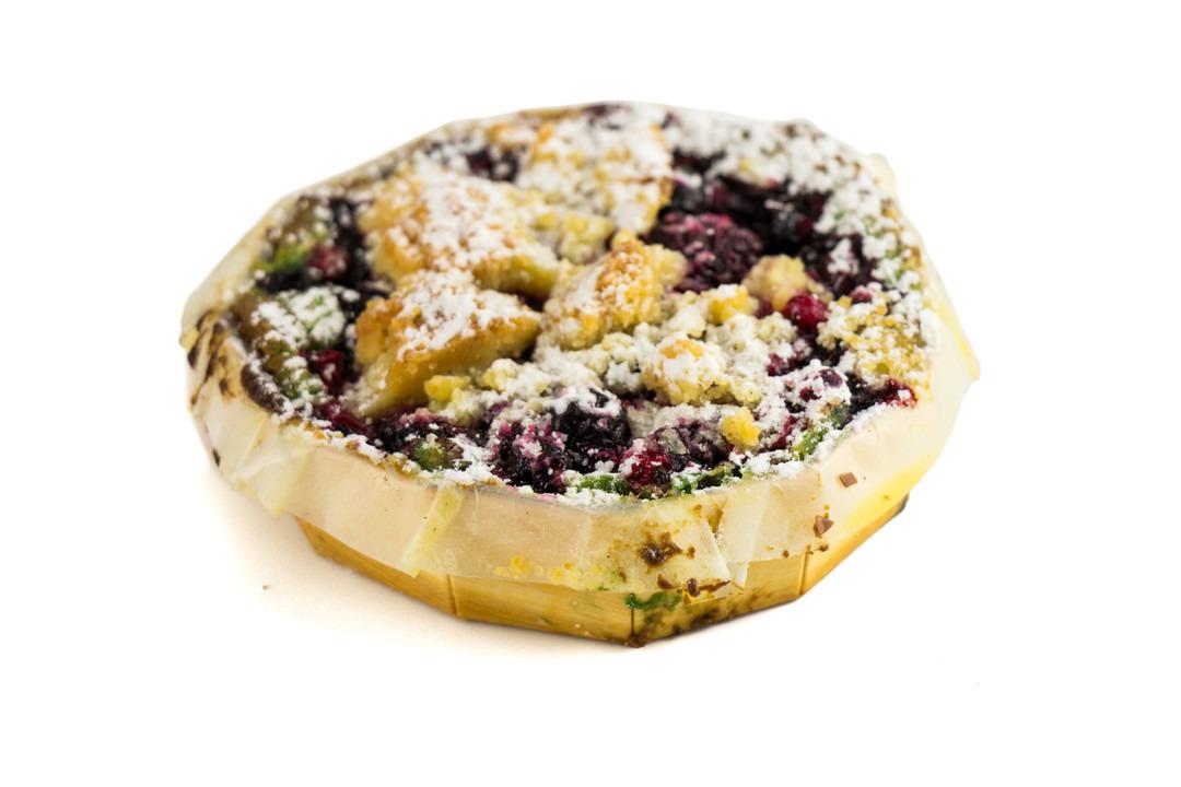 Pistachefrangipanne met woudvruchten - Bakeronline
