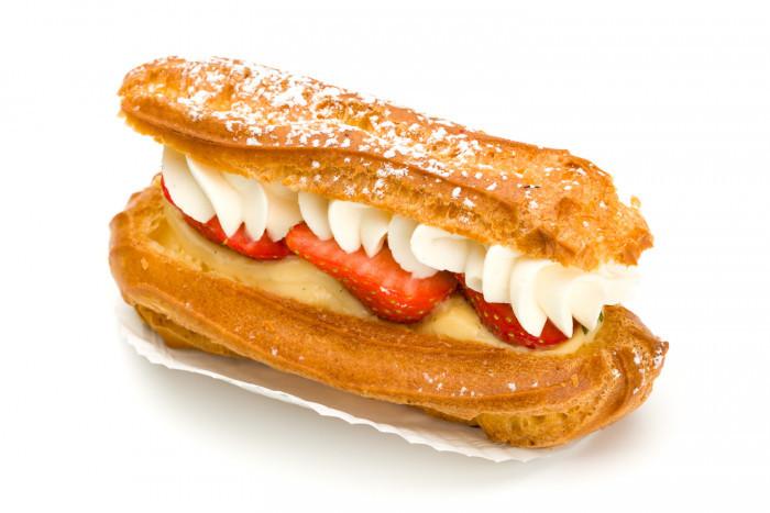 Aardbei eclair - Bakeronline