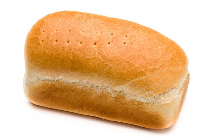 Klein vierkant wit - Bakeronline