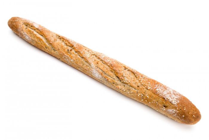 Kleine grijze baguette - Bakeronline