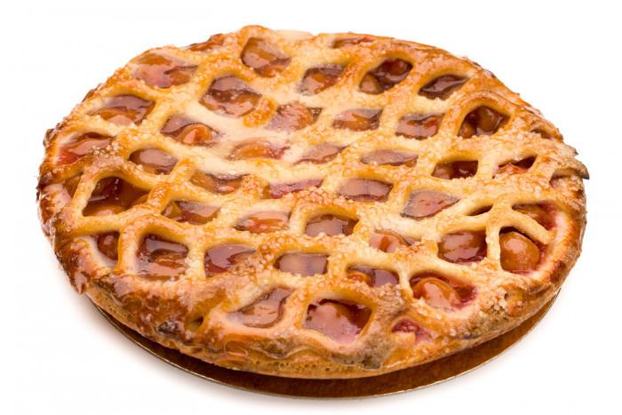 'kriekentaart netje' - Bakeronline