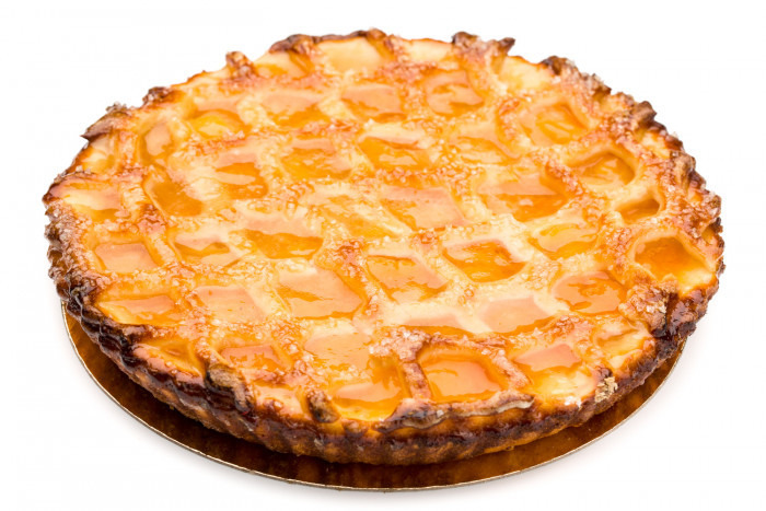 'abrikozentaart netje' - Bakeronline