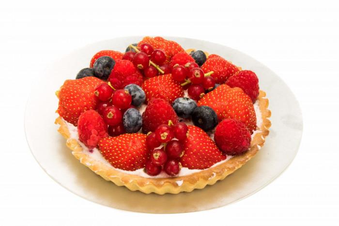 Rode vruchtentaart - Bakeronline