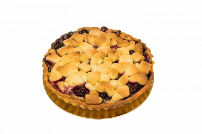 Rode vruchten-crumbletaart - Bakeronline