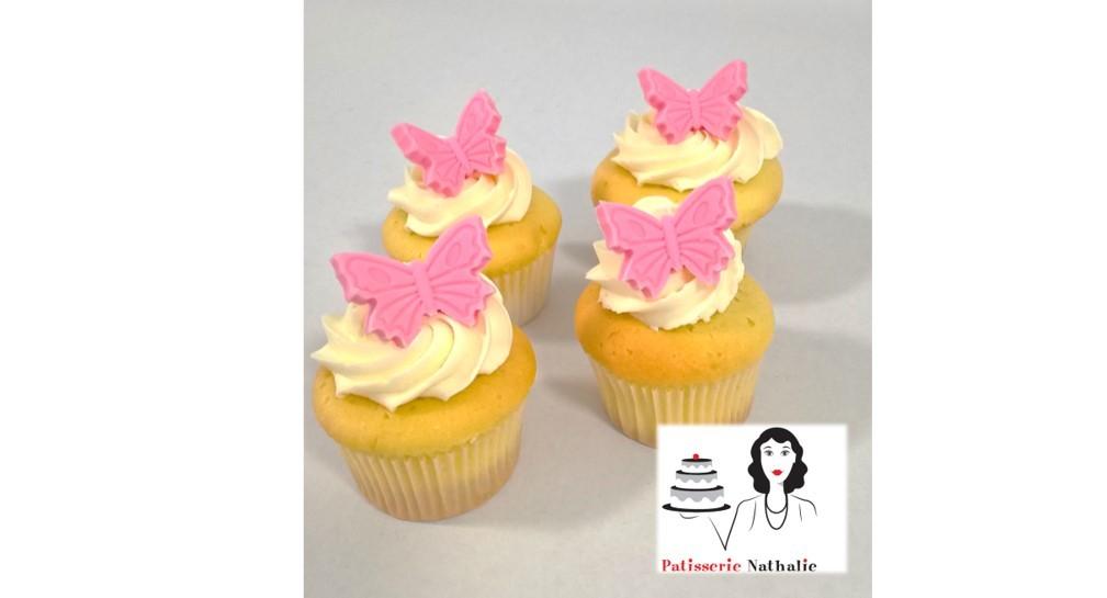 Mini cupcakes vanille - Bakeronline