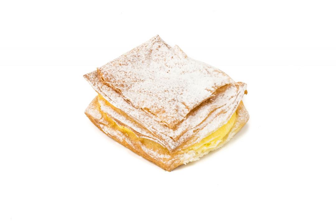 Platte Crèmekoek Suiker - Bakeronline