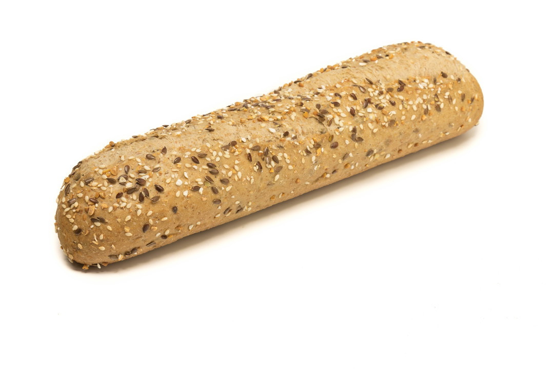 Half stokbrood meergranen - Bakeronline