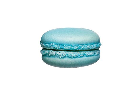 Macaron blauw1 st. - Bakeronline