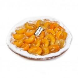 Abrikozentaart gerezen deeg - Bakeronline