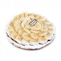 Bananentaart gerezen deeg - Bakeronline