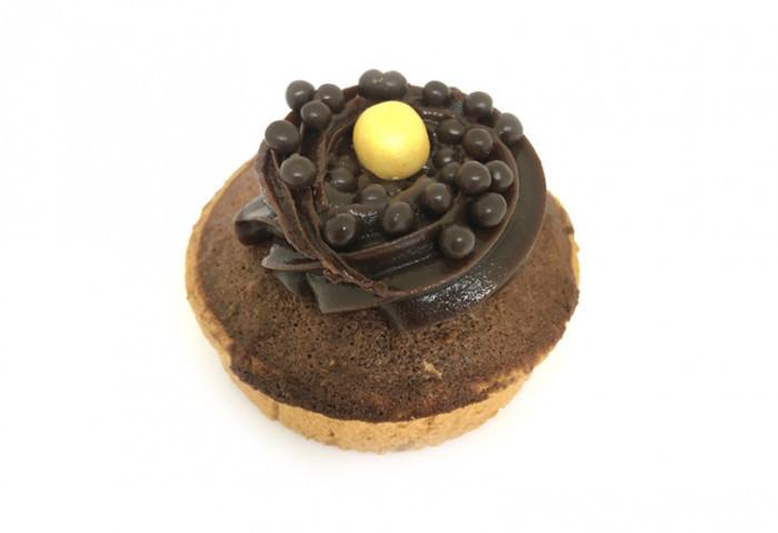 Friands chocolade + ganache - Bakeronline