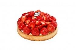 Croute aardbeien - Bakeronline