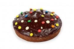 Cake chocolade met ganache en snoepjes - Bakeronline