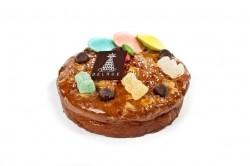 Cake van./choc. met snoepjes - Bakeronline