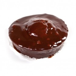 Cake van./choc. met ganache - Bakeronline