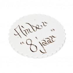 """Inscriptie """"gelukkige verjaardag"""" - Bakeronline"""
