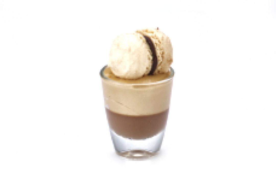 Mini glaasje Pan. cot. choc / bav. prali - Bakeronline