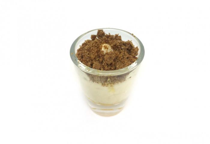 Mini glaasje riz condé - speculoos - Bakeronline