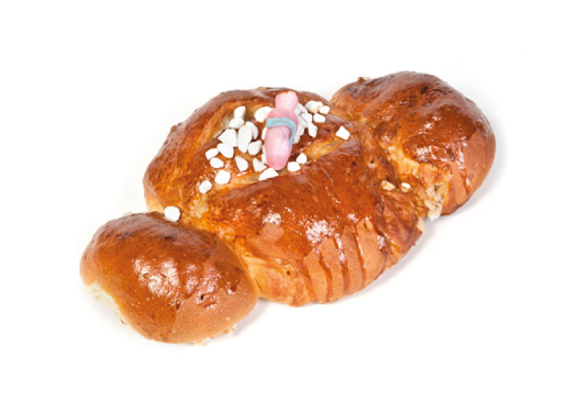 Kerstkindje groot SUIKER 500 gr - Bakeronline