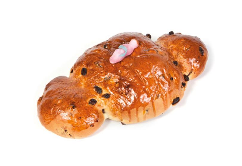 Kerstkindje groot ROZIJNEN 500 gr - Bakeronline