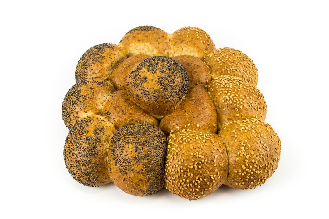 Bloemetje bruin met zaadjes - Bakeronline